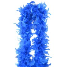 Blue Feather Boa By ArtMinds