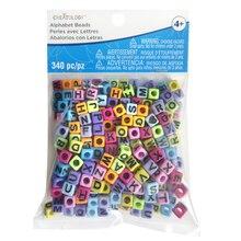 Bright Alphabet Cube Beads By Creatology™, medium