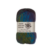 Facets Yarn by Loops & Threads, Blue Zircon