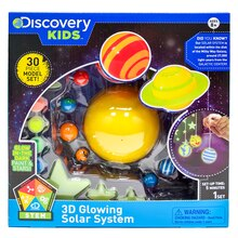 Discovery Kids 3D Glowing Solar System Kit
