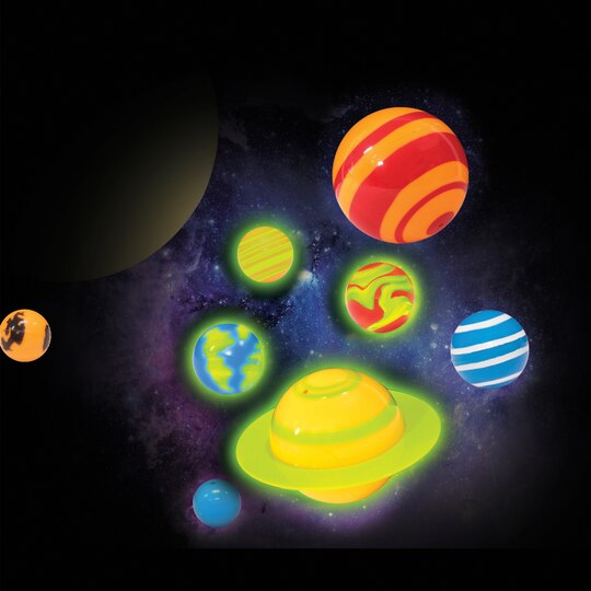 Shop For The Discovery Kids 3d Glowing Solar System Kit