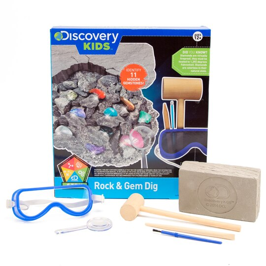 shop for the discovery rock gem dig kit at