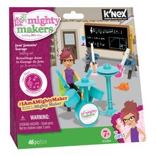 K'NEX Mighty Makers Jess' Jammin' Garage Building Set