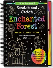 Scratch & Sketch Enchanted Forest: An Art Activity Book