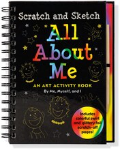 Scratch & Sketch All About Me: An Art Activity Book