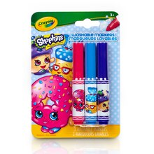 Crayola Shopkins Pip-Squeaks Washable Markers, D'Lish Donut