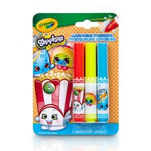 Crayola® Shopkins™ Pip-Squeaks™ Washable Markers, Poppy Corn, medium