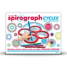 The Original Spirograph Cyclex Spiral Drawing Tool