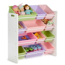 Honey-Can-Do Kids Sort & Store Organizer, Pastel
