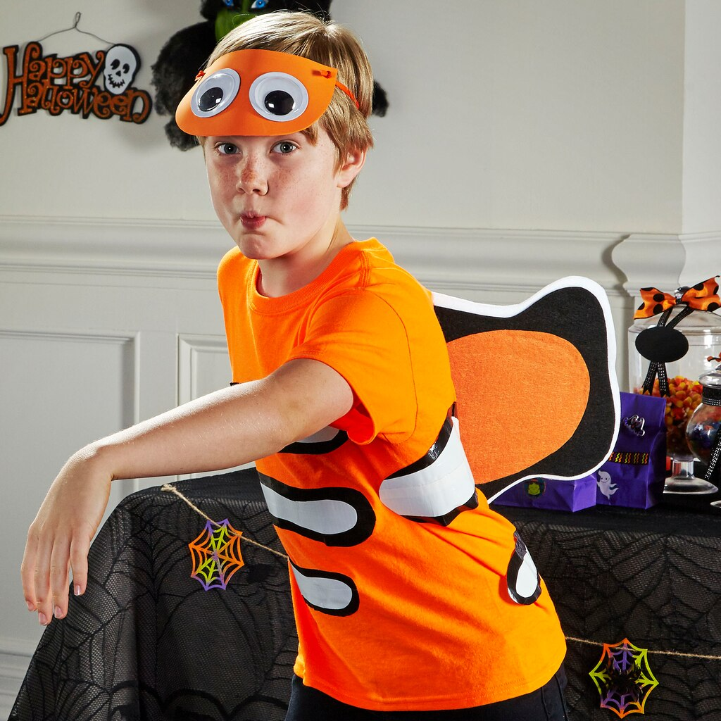 Clown fish halloween costume for Clown fish costume
