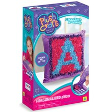 PlushCraft Fabric By Number Personalized Pillow Kit Box