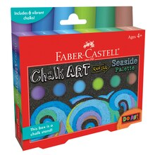 Faber-Castell Do Art Chalk Art Refill, Seaside Palette