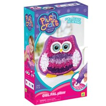 PlushCraft Fabric By Number Owl Pal Pillow Kit