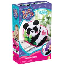 PlushCraft Fabric By Number Panda Pillow Kit Box