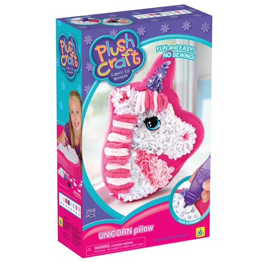 Find the plushcraft fabric by number unicorn pillow kit for Find michaels arts and crafts
