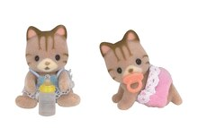 Calico Critters Twins Collection Sandy Cat Twins