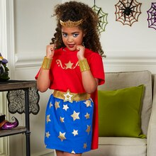 Girl Superhero Halloween Costume, medium