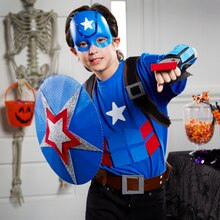 Boy Superhero Costume, medium