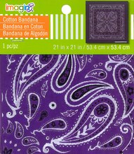 Paisley Bandana by Imagin8, Purple