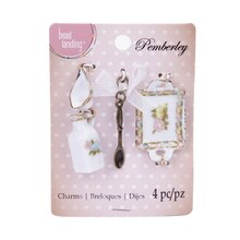 Pemberley Tray Charms By Bead Landing