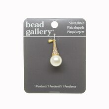 Bead Gallery Ivory Pearl Drop Pendant