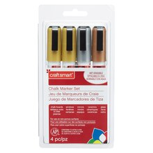 Metallic Chalk Marker Set By Craft Smart