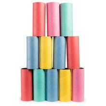 Colored Paper Craft Tubes By Creatology
