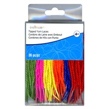 Tipped Yarn Laces By Creatology