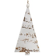 White Christmas Tree Plaque By Celebrate It