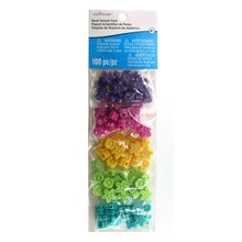 Multicolor Flower Beads By Creatology