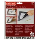 "Graphite Paper by Craft Smart, 9"" x 12"""