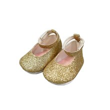 Sparkle Flats for Dolls By Creatology, Gold