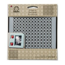 Buy the FolkArt Laser-Cut Small Stencil, Cross Stitch at Michaels