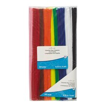 Rainbow Chenille Pipe Cleaners By Creatology