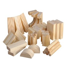 Natural Wooden Blocks By Creatology