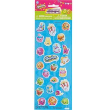Puffy Shopkins Sticker Sheet