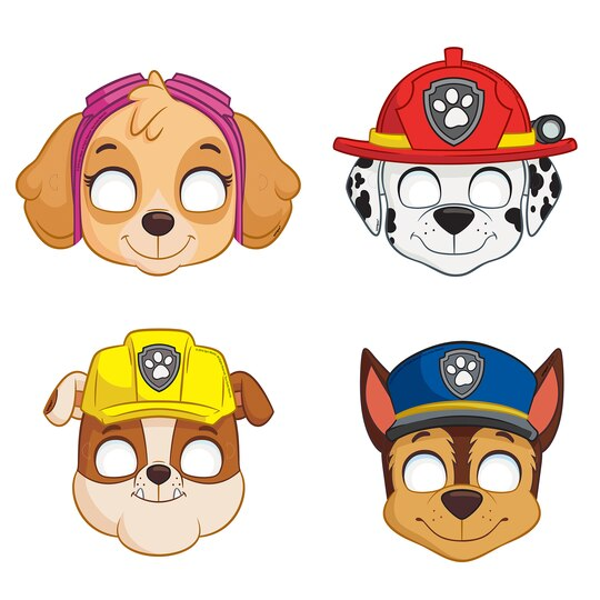 PAW Patrol Character Face Masks | PAW Patrol Party Favors