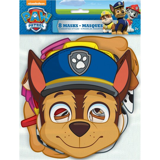 Paw Patrol Character Face Masks Paw Patrol Party Favors
