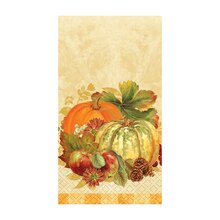 Pumpkin Harvest Fall Paper Guest Towels, 16ct
