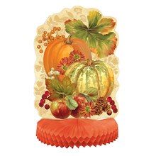 Pumpkin Harvest Fall Centerpiece Decoration, 14""