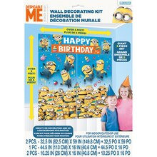 "Giant Despicable Me Minions Wall Decoration, 75"" x 65"""