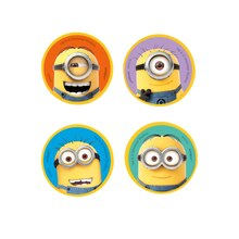 Despicable Me Minions Eraser Party Favors, 4ct