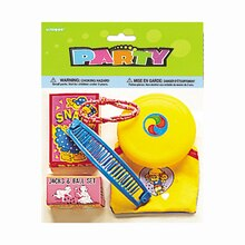 Assorted Girls Party Favors, 6pc