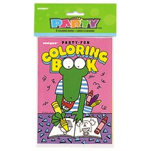 Kids Coloring Book Party Favors, 8ct