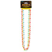 Plastic Crystal Party Bead Necklaces, Assorted 6ct
