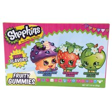 Shopkins Fruity Gummies Box Front