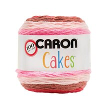 Caron Cakes Yarn, Cherry Chip