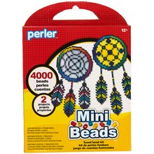 Perler Mini Beads Small Fused Bead Kit, Dream Catcher