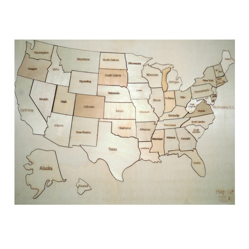 Buy The Wooden USA Map By Creatology At Michaels - Usa map buy