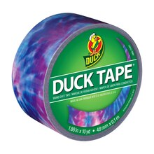 Printed Duck Tape Brand Duct Tape, Totally Tie-Dye